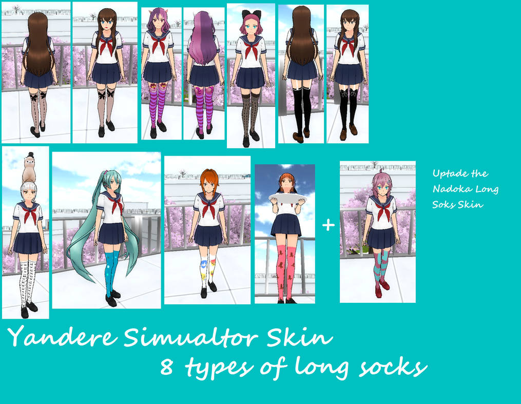 Custom Stockings Yansim Yandere Simulator