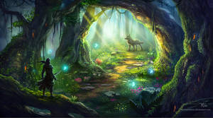 The Fairy Forest by TinyTruc