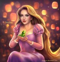 Rapunzel - Disney Princess by TinyTruc