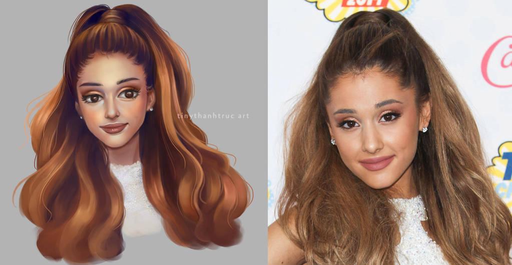 Ariana Grande Fan Art by TinyTruc