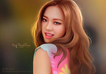 Jennie Kim - BlackPink by TinyTruc
