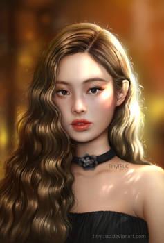Jennie fan art by TinyTruc