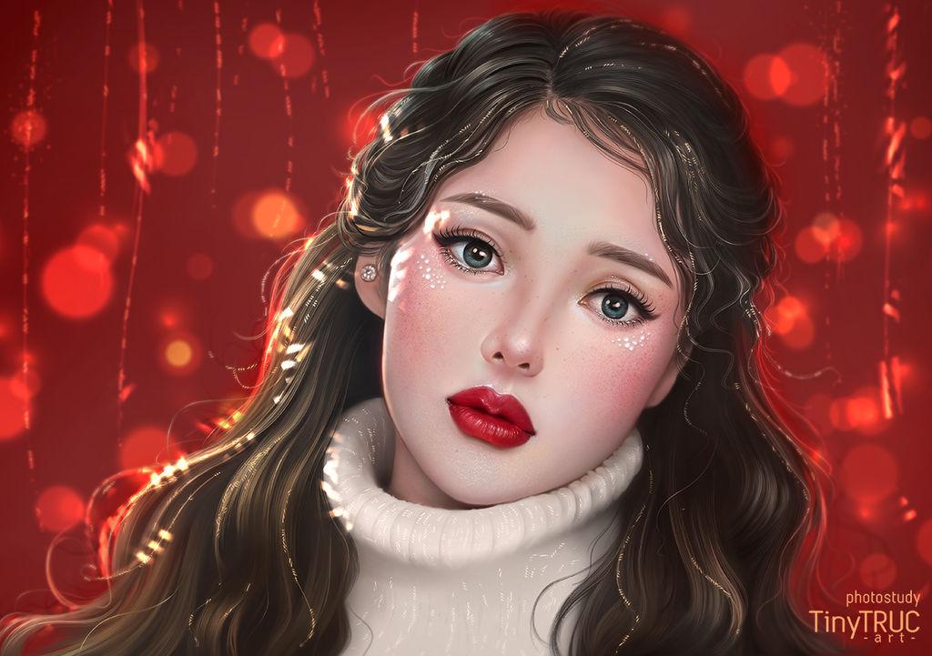 Pony Makeup Christmas by TinyTruc