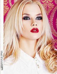 red lipstick by VikkyCrystal