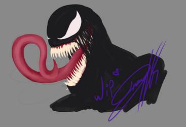 Venom FanArt [WIP] by DreyKun