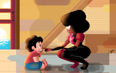 Garnet- Your middle name is Cutie Pie by vernonacla