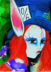 Alice in Wonderland by xXxVioletSkyxXx