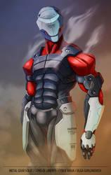 MGS2 Cyber Ninja by ncrow