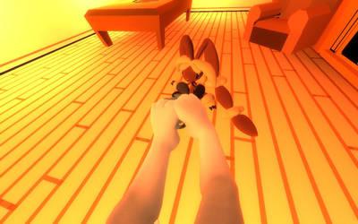 Toriel's Comfy Footstool (4.7) by JMLB666