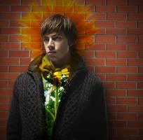 'He's a Wallflower.' by blackjellognome