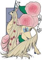 Comm: Sorority Unicorn by inkscribble