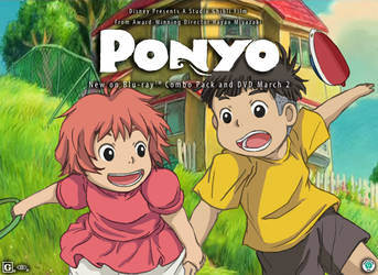 Ponyo to Sosuke by mag-ni