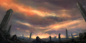 The sky is bleeding by mrNepa