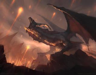 Dragon's roar by mrNepa