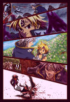 Estarossa-Mael Recuerdos Como Demonio-NNT Manga274 by CrisZeldris1