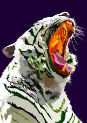 ROAR Tiger by elviraNL
