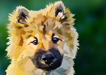 Cute dog! by elviraNL