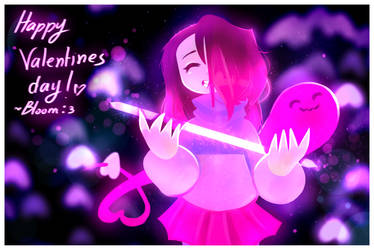 Glitchtale Betty // Happy Valentines Day ! by BloomWaterfall