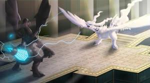 Pokemon Battle by DargonXKS