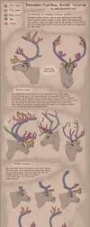 Reindeer/Caribou antlers [TUTORIAL] by Velkss