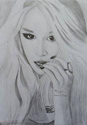 Jiyeon T-ara by vionaly