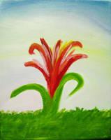 Red Flower by luartandcomics