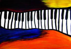 Piano by luartandcomics