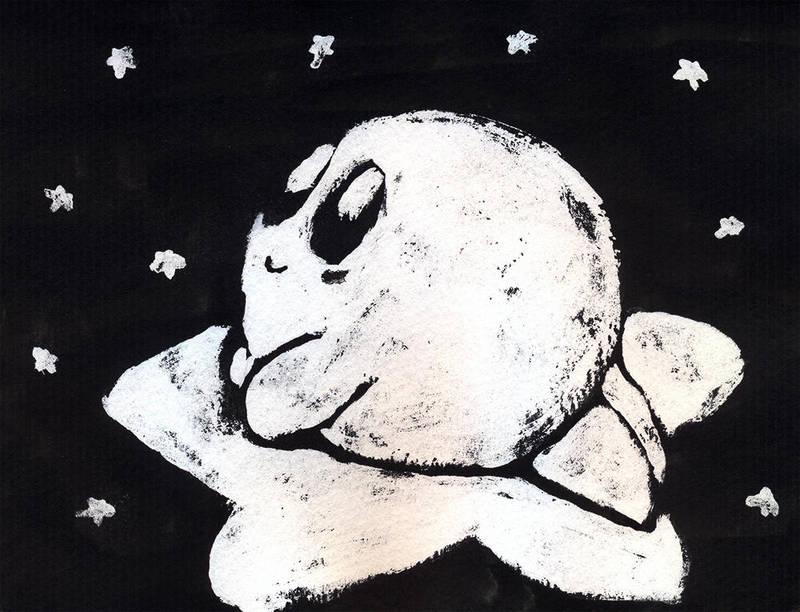 Kirby in the sky with diamonds by luartandcomics