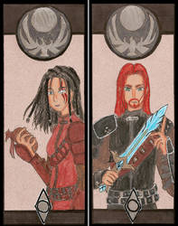 Skyrim bookmark by Soul-of-Neant
