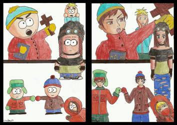 South Park (deux versions) by Soul-of-Neant