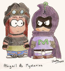 Abigail and Mysterion by Soul-of-Neant