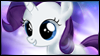 Rarity Filly Stamp by jewlecho