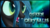 Queen Chrysalis Stamp by jewlecho