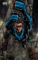 Nightwing: Fundamentals pg. 6 by RayDillon
