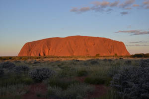 Uluru before sunset by Ikucuze