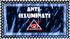 205 - Anti-Illuminati Stamp by LouisaColler