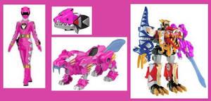 Pink Dino Thunder Ranger by Greencosmos80