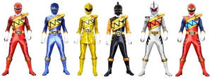 Power Rangers Dino Thunder Charge by Greencosmos80