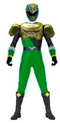 HypeForce Green Ranger (Official) by Greencosmos80