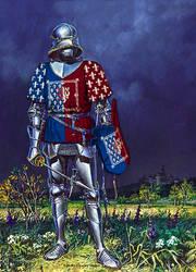 (France) Pacesovi Knight 1 by TheFlowerofChivalry