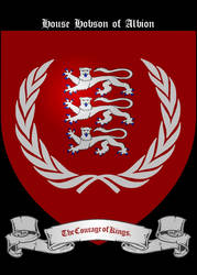 (England) House Hobson of Albion by TheFlowerofChivalry