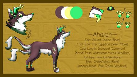 MYO Jader: Aharon (Imperial) by ookamiwolfe