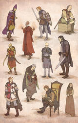 ASoIaF characters - commissions by mustamirri