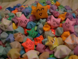 Many Faces of  Stars by ninjachocobogirl