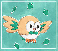 Rowlet by VortexOfSaturn