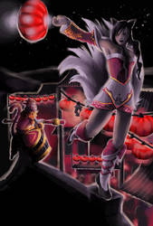 League of Legends - Lunar Revel by Lucrai-Arts