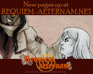 Requiem aeternam - Prolog Page 9 + 10 by Lucrai-Arts
