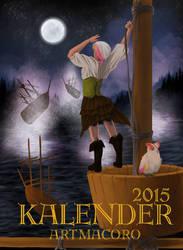 ArtMacoro Calendar Cover 2015 by Lucrai-Arts