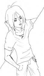 Jin Kiamatsu-LineArt by jezzey