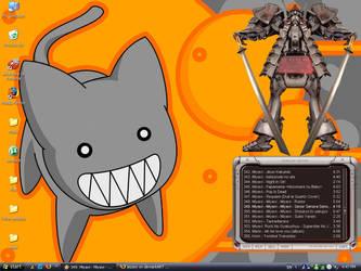 Kami neko-desktop by jezzey
